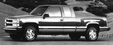 1995 Chevrolet C/K 1500 Ext Cab 141.5 WB