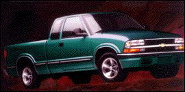 1998 Chevrolet T10 WIDESIDE 108.3I 4WD