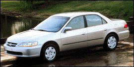 1998 Honda Accord Sedan 4dr Sdn EX Auto V6