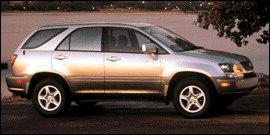 1999 Lexus RX 300 4D Sport Utility