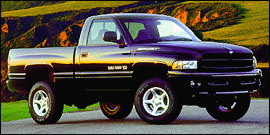 2000 Dodge Ram 1500 2dr Club Cab 139 WB