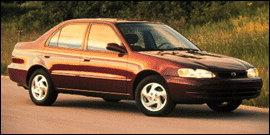 2000 Toyota Corolla 4dr Sdn