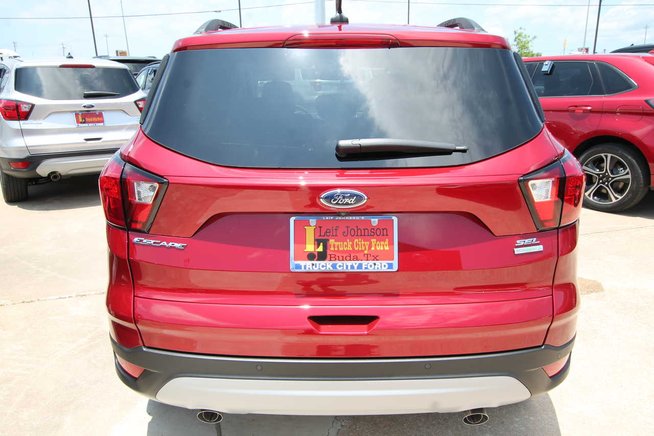 Truck City Ford Buda Texas >> 2019 Ford Escape Sel Fwd Stock 9473336t