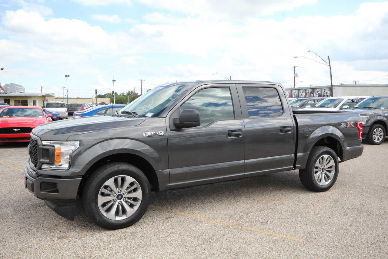 New 2018 Ford F-150 SuperCrew 5.5' Box XL
