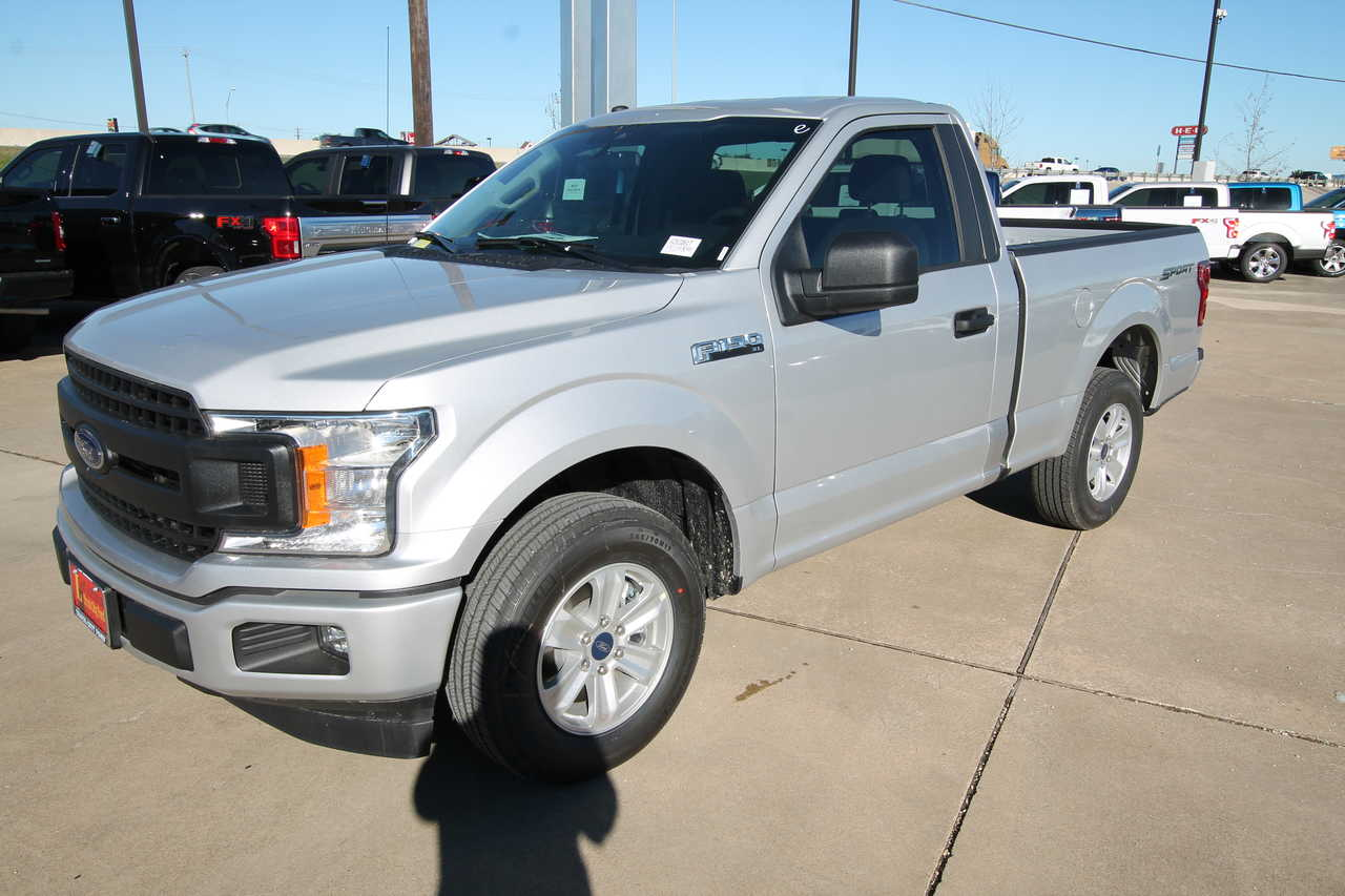 New 2019 Ford F-150 Regular Cab 6.5' Box XL
