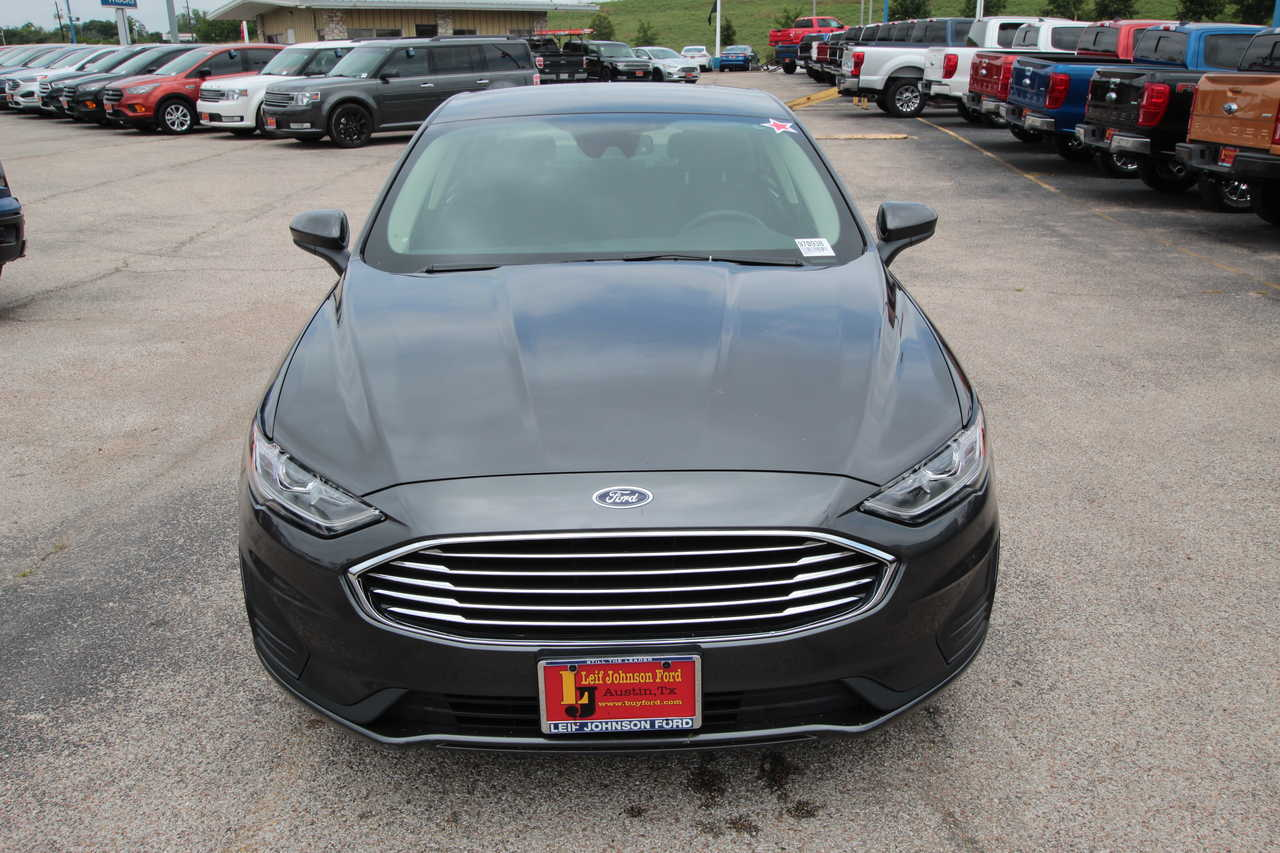 Leif Johnson Ford Austin Tx >> 2019 Ford Fusion Se Fwd Fctp Stock 970938