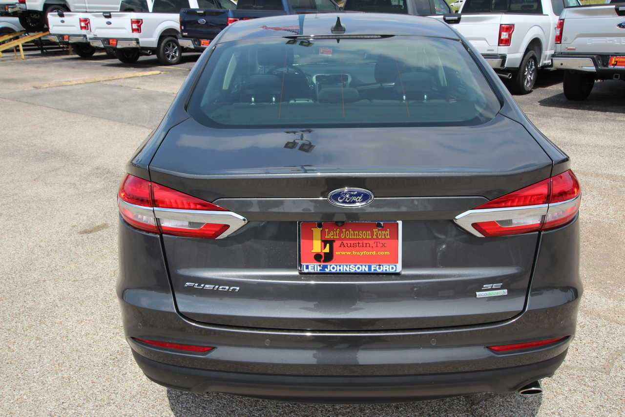 Leif Johnson Ford Austin Tx >> 2019 Ford Fusion Se Fwd Stock 975472