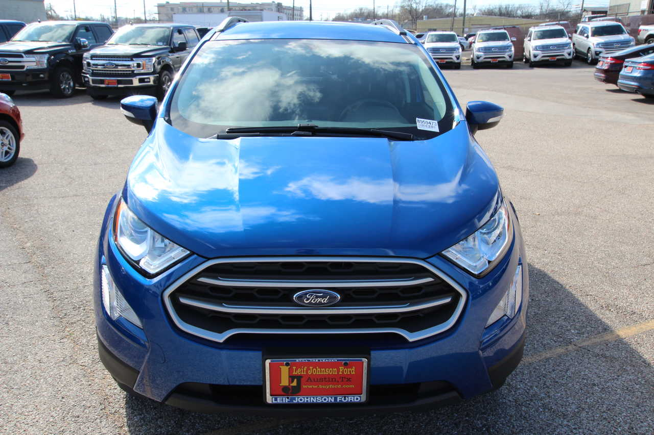 Leif Johnson Ford Austin Tx >> New 2018 Ford Ecosport Se Austin Tx Leif Johnson Ford