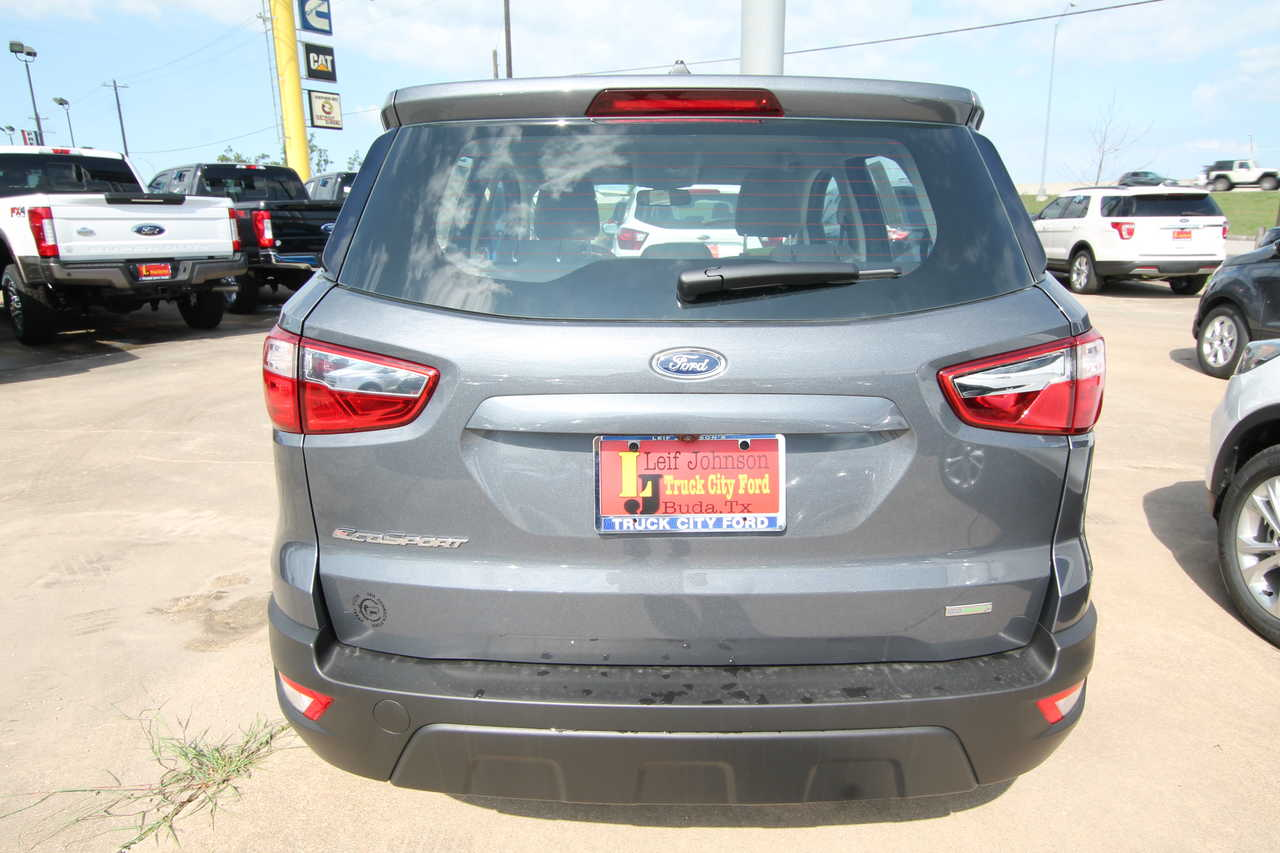 Truck City Ford Buda Texas >> 2019 Ford Ecosport S Fwd Stock 9952525t