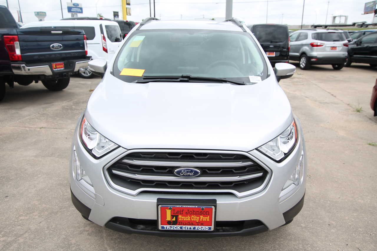 Truck City Ford Buda Texas >> 2019 Ford Ecosport Se Fwd Stock 9952527t