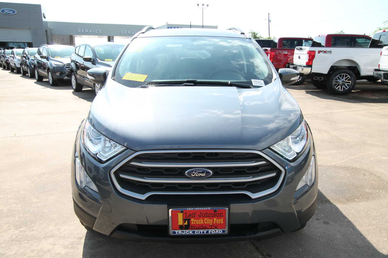 Truck City Ford Buda Texas >> 2019 Ford Ecosport Se Fwd Stock 9952526t