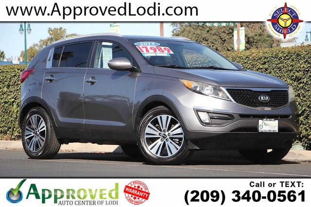 2015 KIA SPORTAGE EX SPORT UTILITY 4D Passenger Front Airbag Side Impact Airbag Auto-Dimming Rea