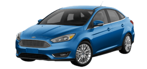 2016 Ford Focus Titanium 4D Sedan