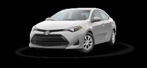 2017 Toyota Corolla L 4D Sedan