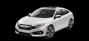 2018 Honda Civic EX-L 4D Sedan