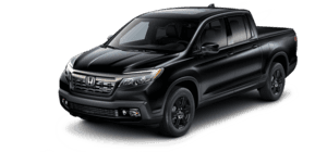 2019 Honda Ridgeline With Leather and Navigation Black Edition