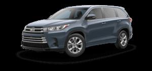2019 Toyota Highlander 4-cylinder LE