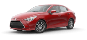 2019 Toyota Yaris LE 4D Sedan