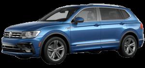 2019 Volkswagen Tiguan 2.0T SEL R-Line 4D Sport Utility