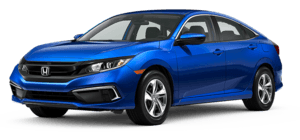 2020 Honda Civic LX 4D Sedan