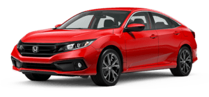 2020 Honda Civic Sport 4D Sedan