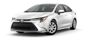 2020 Toyota Corolla LE 4D Sedan