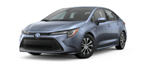 2020 Toyota Corolla Hybrid LE 4D Sedan