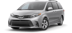 2020 Toyota Sienna LE 4D Passenger Van