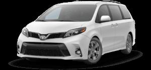 2020 Toyota Sienna SE 4D Passenger Van