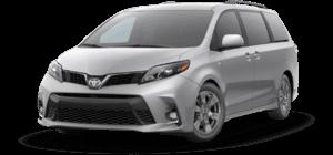 2020 Toyota Sienna 8 Passenger SE