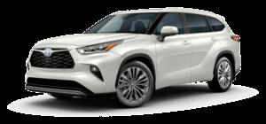 2021 Toyota Highlander Hybrid Platinum 4D Sport Utility
