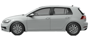 2021 Volkswagen Golf 1.4T TSI 4D Hatchback
