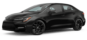 2022 Toyota Corolla Nightshade 4D Sedan