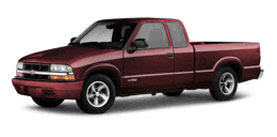 2002 Chevrolet S-10 Ext Cab 123 WB