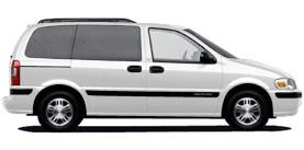 2002 Chevrolet Venture 4D Passenger Van