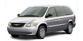 2003 Chrysler Town and Country LX 4D Passenger Van