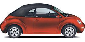 2003 Volkswagen New Beetle Convertible 2dr Convertible GLS