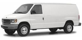 2004 Ford E-350SD 3D Extended Cargo Van
