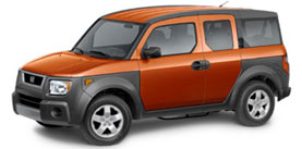2004 Honda Element EX w/Side Airbags