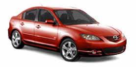 2004 Mazda Mazda3 s 4D Sedan