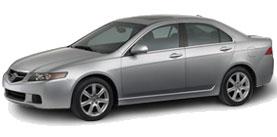 2005 Acura TSX 4D Sedan