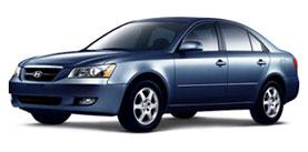 2006 Hyundai Sonata 4D Sedan
