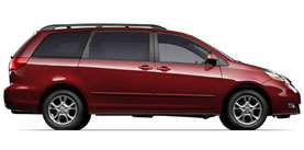 2006 Toyota Sienna LE 4D Passenger Van