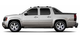 Chevrolet Avalanche 1500 LT 4D Crew Cab