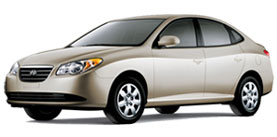 2007 Hyundai Elantra 4D Sedan
