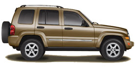 2007 Jeep Liberty Limited 4D Sport Utility