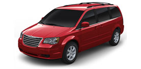 2008 Chrysler Town and Country Touring 4D Passenger Van