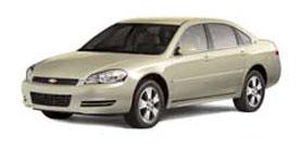 2009 Chevrolet Impala LS 4D Sedan