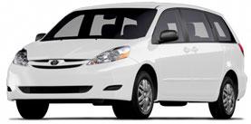 2009 Toyota Sienna 4D Passenger Van
