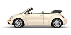 2009 Volkswagen New Beetle Convertible 2.5L